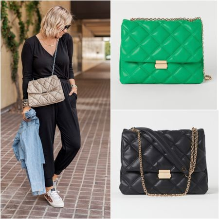 This $40 handbag (that I LOVE) now comes in the prettiest green 💚 and black 🖤   #LTKitbag #LTKunder50 #LTKGiftGuide