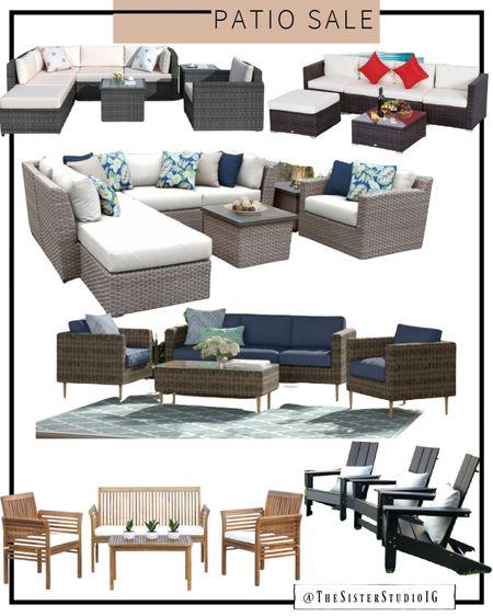 BIG patio SALE!! Outdoor furniture. Patio style!     http://liketk.it/3giRs @liketoknow.it #liketkit #LTKsalealert #LTKstyletip #LTKhome