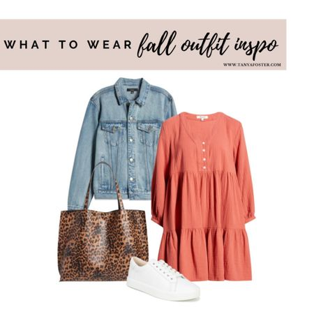 Super cute fall dress on SALE for LTK Day  #LTKstyletip #LTKsalealert #LTKSale