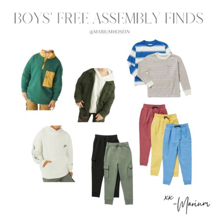 The cutest affordable finds for mikayl at Free assembly for Walmart. He's wearing a size 4-5.   #LTKkids #LTKhome #LTKfamily