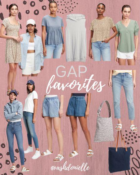 My favorite women's fashion finds from GAP! #womensfashion #bag #denim #fall  #LTKitbag #LTKfit #LTKstyletip