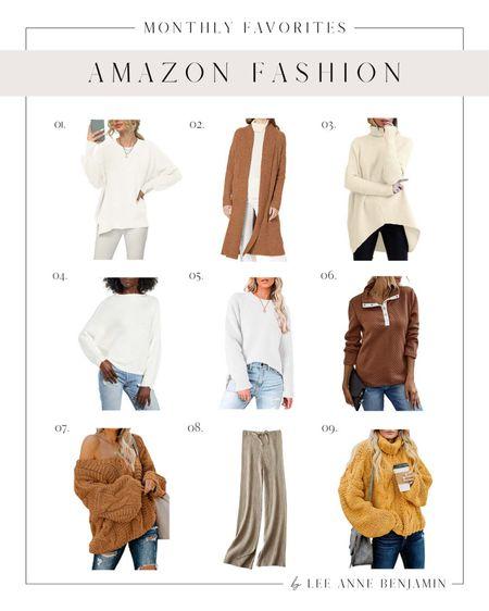 Amazon monthly fall fashion faves !   #LTKstyletip #LTKSeasonal #LTKsalealert