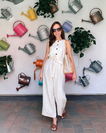 Obsessed with jumpsuits for summer. http://liketk.it/3jxSi #liketkit @liketoknow.it #jumpsuit #summer #summerstyle