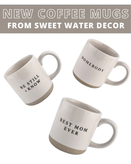 Sweet Water Decor came out with some new adorable coffee mugs! http://liketk.it/3bfc3 #liketkit @liketoknow.it
