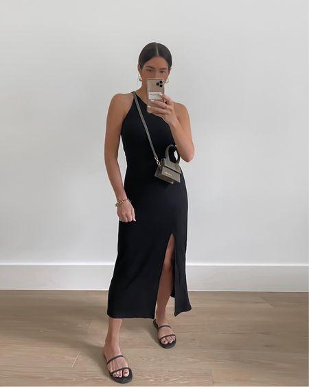 Summer dress of my dreams🖤 Linked in my bio or tap f #LTKunder100 or details 🤍 http://liketk.it/3iPQK #liketkit @liketoknow.it #LTKstyletip