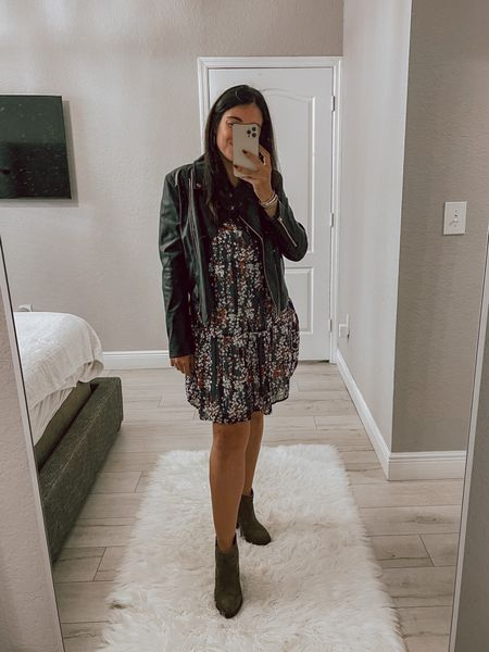 This fall dress can be dressed down or dressed up!   #LTKstyletip #LTKSeasonal #LTKunder50