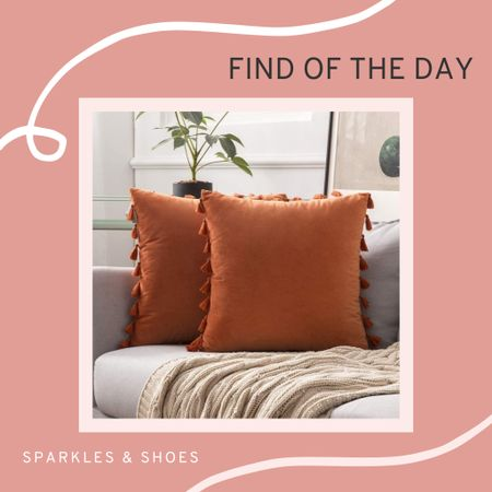 How cute are these pillows for Fall? And they will take you through both #halloween and #thanskgiving! 🧡 #findoftheday  #LTKHoliday #LTKhome #LTKSeasonal
