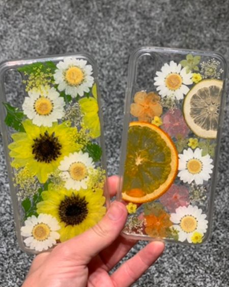 How cute are these phone cases?! I had to have both! Love that these are handmade with real pressed flowers and fruit. http://liketk.it/2TVvJ #liketkit @liketoknow.it @liketoknow.it.home @liketoknow.it.family @liketoknow.it.europe Download the LIKEtoKNOW.it shopping app to shop this pic via screenshot