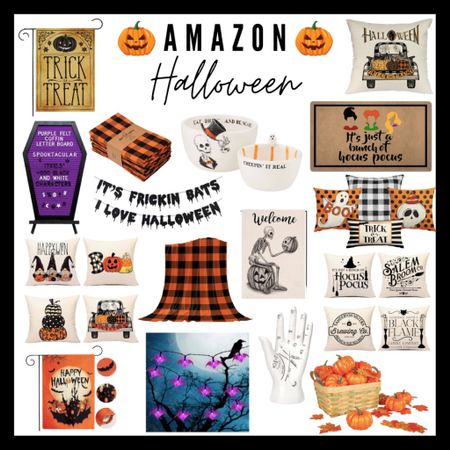 Amazon halloween decor, amazon finds, amazon home decor, fall decor, autumn   #LTKunder100 #LTKhome #LTKSeasonal