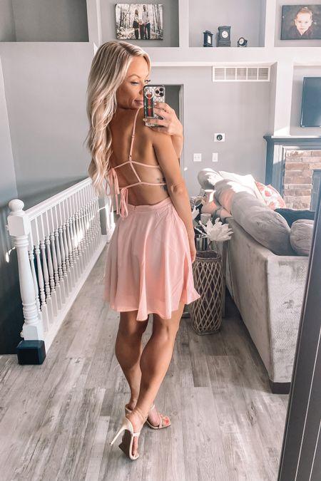 Wedding guest dress idea! The back is stunning! http://liketk.it/3iMYg #liketkit @liketoknow.it
