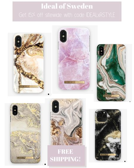 These gorgeous marble phone cases are now 15% off with code IDEALxRSTYLE plus free shipping!    http://liketk.it/31Dtp #liketkit @liketoknow.it #LTKgiftspo #LTKunder50 #LTKsalealert