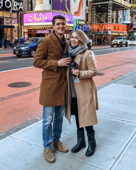 http://liketk.it/2H22T #liketkit @liketoknow.it #LTKtravel the best weekend touring NYC with Zach in the best camel coat and motorcycle boots. #LTKfamily