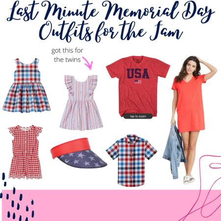 Last minute Memorial Day outfits for the family! http://liketk.it/3g7iE #liketkit @liketoknow.it #LTKunder50 #LTKfamily #LTKkids @liketoknow.it.family