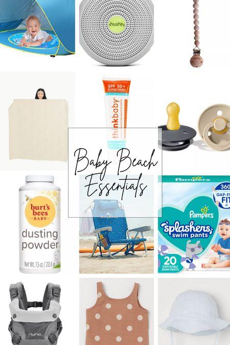 Baby beach essentials!   #LTKtravel #LTKkids #LTKswim