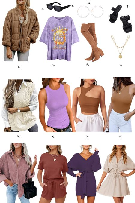 Amazon fall finds that are in my cart! I'm very into neutrals and feel like brown bodysuit, brown built, brown jacket etc will be staples for the fall wardrobe! #AmazonFinds #AmazonFashion #FallFashion   #LTKunder100 #LTKSeasonal #LTKunder50