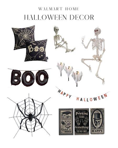 Walmart affordable Halloween decor!   #LTKhome #LTKsalealert #LTKSeasonal