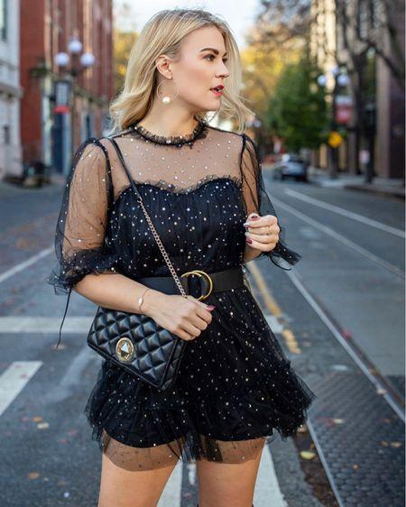 black dress | date night | LBD | NastyGal dress @liketoknow.it http://liketk.it/3bfGK #liketkit #LTKwedding #LTKunder50 #LTKstyletip