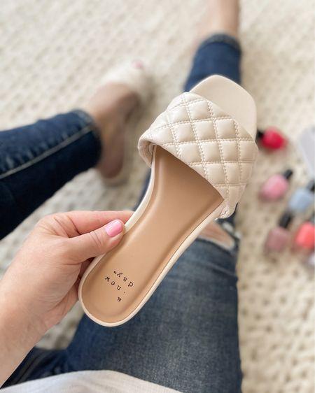 Spring sandals 💓 http://liketk.it/3ahfA #liketkit @liketoknow.it Download the LIKEtoKNOW.it shopping app to shop this pic via screenshot