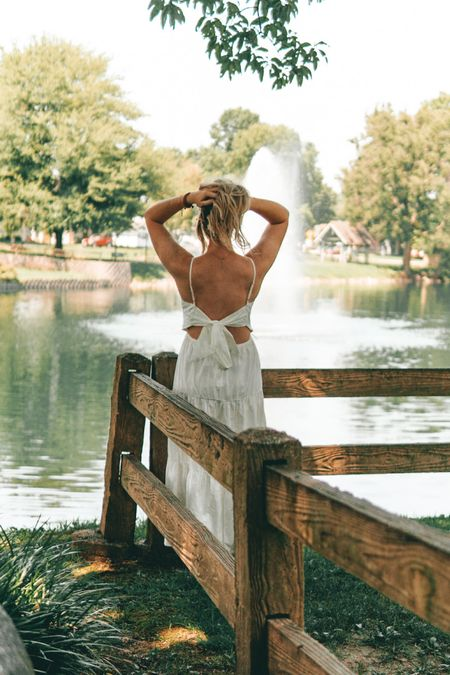 Everyone needs an open back white dress in the summer… linked a bunch of my favorites!   #LTKunder50 #LTKstyletip #LTKsalealert