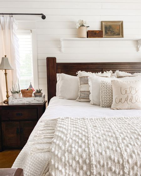 Simple bedroom decor! http://liketk.it/3iSo1 #liketkit @liketoknow.it #LTKsalealert @liketoknow.it.home