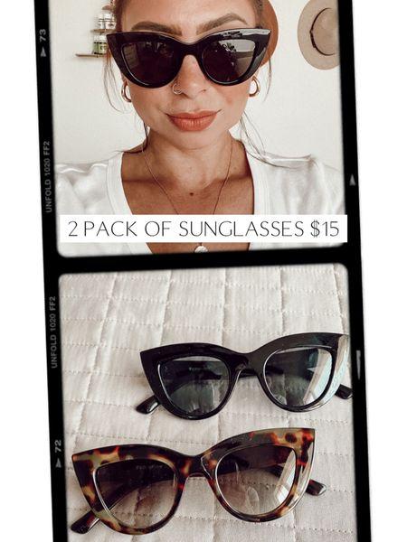 Amazon fashion sunglasses 2 for $15!  http://liketk.it/3gdTu #liketkit @liketoknow.it