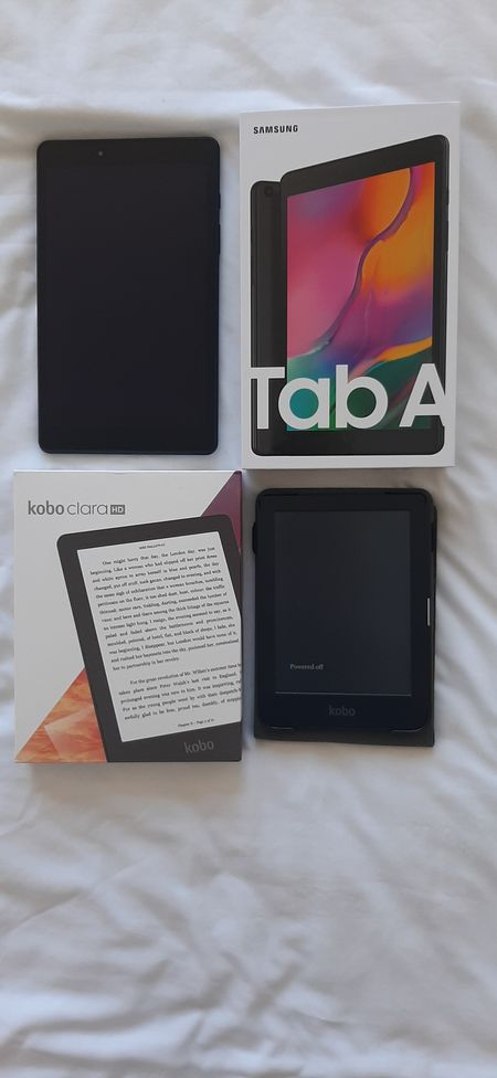 With Amazon Prime Day is full swing I thought I'd share with you my latest gadgets I've been loving.  The EReader - Kobo Clara HD I got for my Birthday and it is so convenient for travel and the beach. The screen is adaptive therefore no need to worry about the sun glare. I am also linking the case I got for it, which also acts as a stand.  Secondly, I recently purchased a Samsung Tablet. Totally want more than a need but I've been using it a ton and saves me having to turn on my laptop all the time. #electronics #amazonfinds #amazonprimeday #amazonprime #tablet #samsung #ereader #gadgets #LTKhome #liketkit @liketoknow.it http://liketk.it/3i6pM
