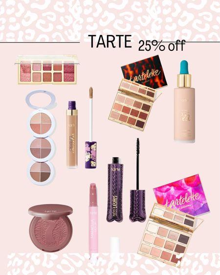 25% off Tarte code TARTELTK25 Beauty  Make up.   #LTKDay #LTKbeauty #LTKsalealert