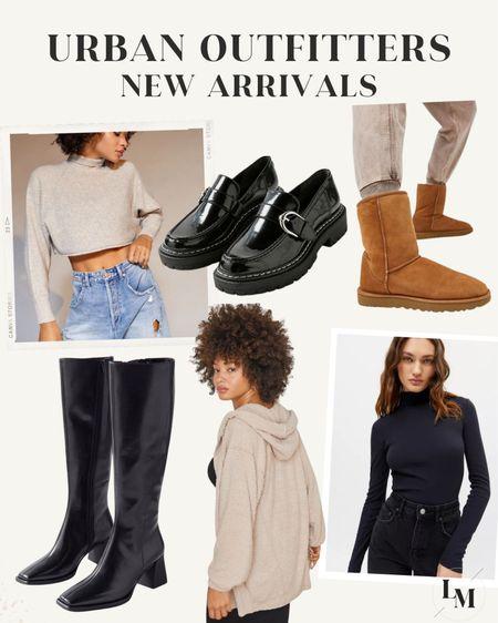 Urban Outfitters new arrivals!  — Sam Edelman, loafers, knee high boots, turtleneck sweater, ugg boots  #LTKshoecrush #LTKGiftGuide #LTKstyletip