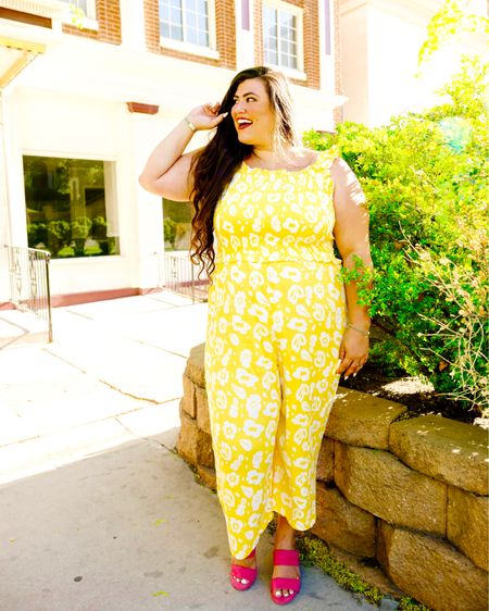Jumping into summer looks with this cute jumpsuit! 🌞💛 #sponsored  • I'm loving the easy dresses and jumpsuits from @walmartfashion! You'll find your new favorite, fun looks that you turn to on repeat and wear all summer. They're all so cute! 💛 This fun pattern jumpsuit is not only light weight and perfect for summer, but it's on sale for under $35! Shop my favorites from @walmart by following me on @liketoknow.it link in my bio and swipe up in stories ❤️   #walmartfashion http://liketk.it/3jKvD #liketkit #LTKcurves #LTKunder50 #LTKsalealert