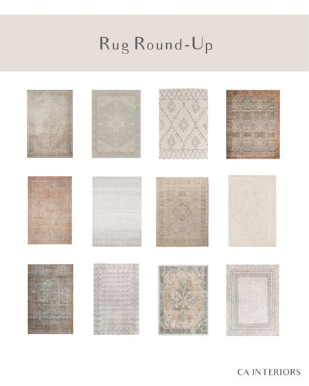 I've got a rug round up for you! These are perfect for any are of the home, I've got some of them in my kitchen, living room, dining room and even kids room! Very neutral but not boring. http://liketk.it/3fgNj #liketkit @liketoknow.it #LTKfamily #LTKhome