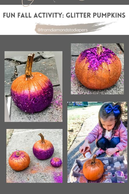 Such a fun way tor kids to decorate pumpkins. Easy and creative.     #LTKfamily #LTKkids #LTKSeasonal