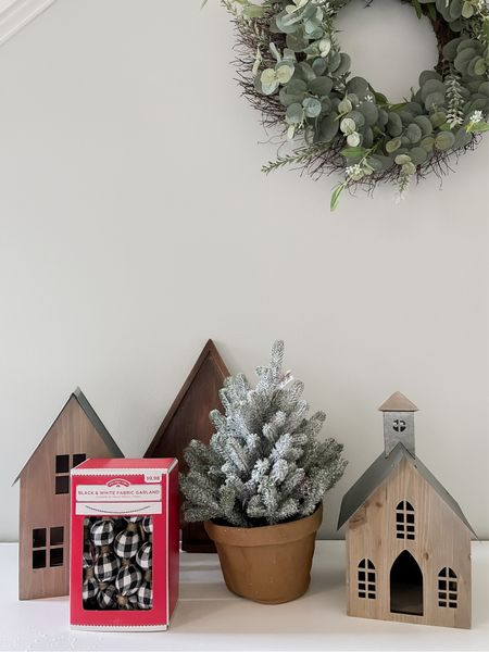 Just bought this cute farmhouse Christmas decor from Walmart!   #LTKhome #LTKunder50 #LTKHoliday