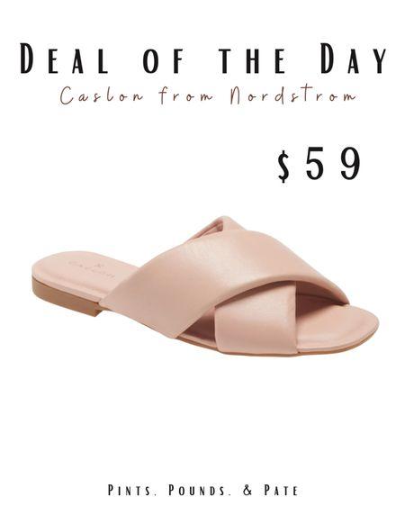 Another slide sandal special of the day!   #LTKunder100 #LTKshoecrush