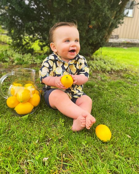 http://liketk.it/3ekz9 #liketkit @liketoknow.it When life gives you lemons..make lemonade! 🍋🥰 #LTKbaby #LTKkids #LTKunder50