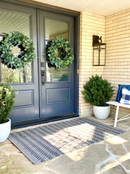 I love spring decor that can work for all seasons! Spring wreaths that you can leave up for on your front porch for most of the year are always a win.   #LTKSeasonal #LTKstyletip #LTKSpringSale