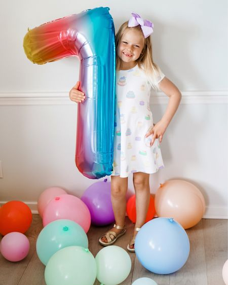 Beaufort bonnet company birthday dress birthday balloons   #LTKfamily #LTKkids #LTKunder50