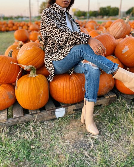 this is how a fashionista does a pumpkin patch. linked this trendy shacket here http://liketk.it/2YAnq #liketkit @liketoknow.it