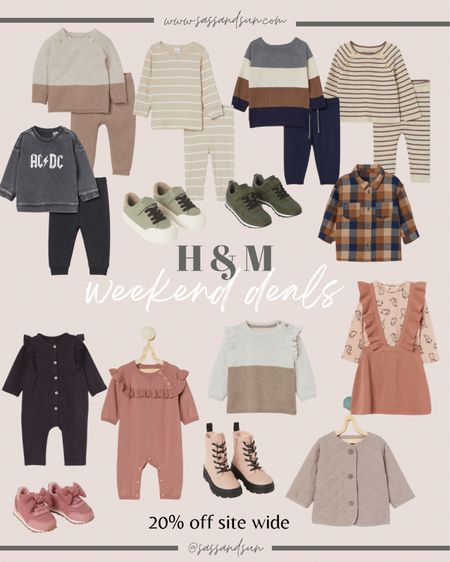 H&M baby/toddler 20% off today / baby outfits / toddler outfits / fall style / kids fall outfits    #LTKunder50 #LTKsalealert #LTKkids