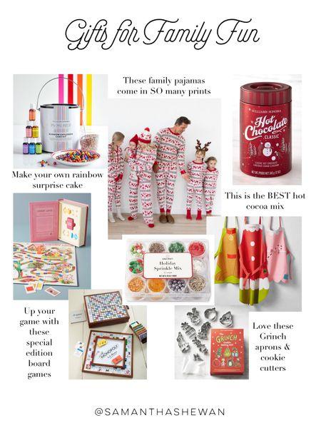 Gifts for Family Fun, family gift ideas, Christmas activity gifts http://liketk.it/328dj #liketkit @liketoknow.it gifts #LTKgiftspo #StayHomeWithLTK #LTKfamily