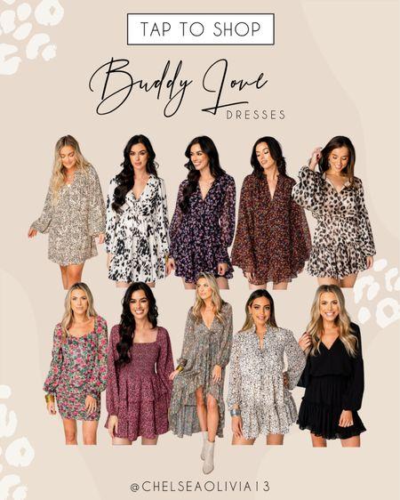 Favorite dresses at Buddy Love!!  #LTKunder100 #LTKSeasonal #LTKstyletip