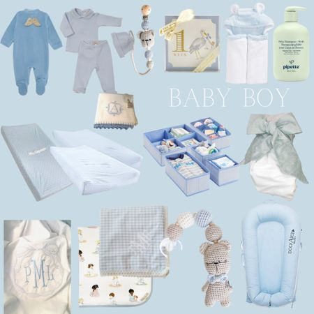 Some sweet pieces I've been picking up for Baby Boy 💙👶🏼 Burp cloths, swaddles, changing pad covers, milestone cards, and more. @liketoknow.it http://liketk.it/3kcba #liketkit #LTKbaby #LTKbump #babyboy #newborn