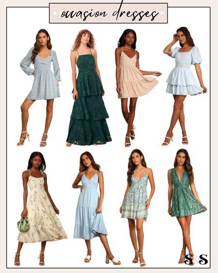 More occasion dress options from lulus🙌 #weddingguestdresses #occasiondresses #summerdresses #dresses   #LTKSeasonal #LTKunder100 #LTKstyletip