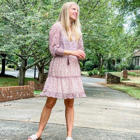 Amazon dress Amazon finds leopard print fall dress