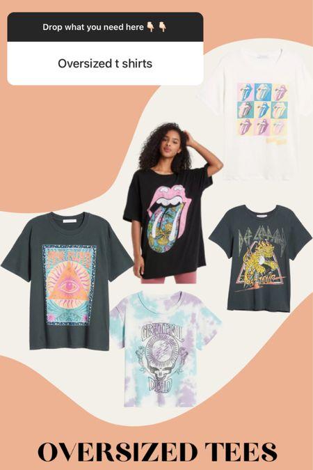 Favorite shirts for oversized tees http://liketk.it/3k5u8 #liketkit @liketoknow.it