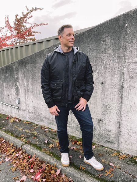 Leif wearing XL in jacket    #LTKHoliday #LTKmens #LTKGiftGuide