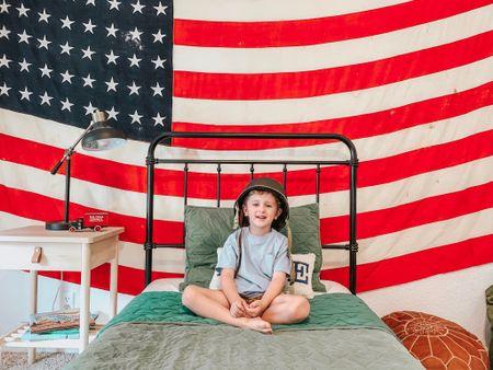 Toddler boy bedroom Memorial Day http://liketk.it/3gyHD #liketkit @liketoknow.it #LTKkids #LTKfamily