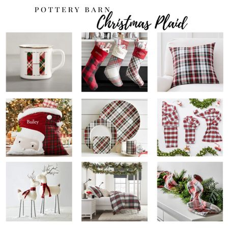 Pretty in plaid! Pottery Barn Christmas plaid in so many variations - I just want it all! #Christmasdecor #plaid #liketkit #StayHomeWithLTK #LTKhome #LTKfamily @liketoknow.it @liketoknow.it.home @liketoknow.it.family Shop my daily looks by following me on the LIKEtoKNOW.it shopping app! ➡️ http://liketk.it/2ZyWd