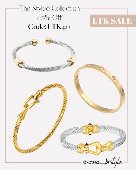 Styled collection on sale, bracelets on sale #anna_brstyle  #LTKSale