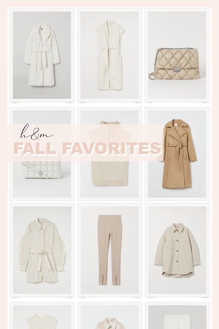 H&M neutral fall favorites.   #LTKunder50 #LTKSeasonal #LTKstyletip