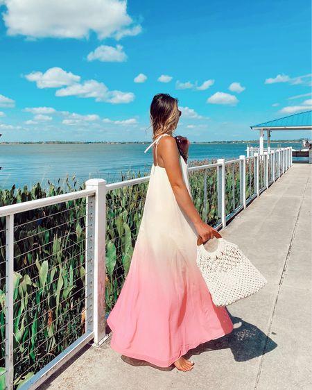 Wishing I was twirling around in the Florida sunshine still on this dreary rainy day! 💕 Shop my favorite sunset maxi dress here 👉🏻 http://liketk.it/3gW9i @liketoknow.it #liketkit #LTKstyletip #LTKtravel #LTKunder100
